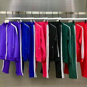 2021 NOUVEAU Hommes Womens Tracksuit Sweatshirts Convient aux hommes Track Sweat Sweat Coats Homme Designers Vestes Manteau Hoodies Pantalons Sweatshirts Sportswear
