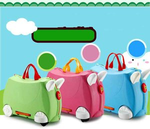 Children's Baby Suitcase Trolley Mount Universal Wheel Portable Boarding Case Box The Prince's Trust Charity Trunk Rolling Luggages