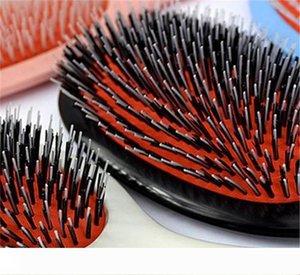 Heißer Verkauf Mason Haarbürste mit Massage Paddle Comb Wildschweinborste Mix Nylonhaar-Kamm, Bürste Barber Bürste Haar-Verlängerung Hot