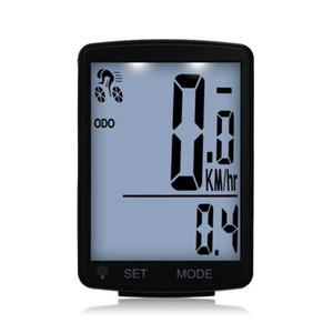 LCD Ekran Yağmur suyuna dayanıklı Bisiklet Kilometre Kilometre sayacı Bisiklet 2.8inch Bisiklet Aksesuarları ile Fonksiyonlu Kablosuz Bisiklet Bilgisayar
