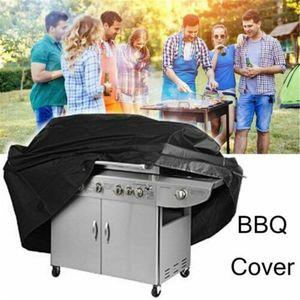 Exterior Impermeable A prueba de polvo Gas BBQ Grill Barbecue Cover Protector Poliéster