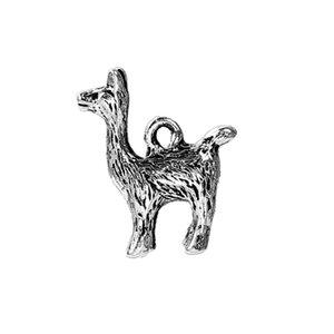 doreenbeads zinc based alloy 3d charms pendants silver color alpaca 18mm 68 beautiful necklaces pendants supplies