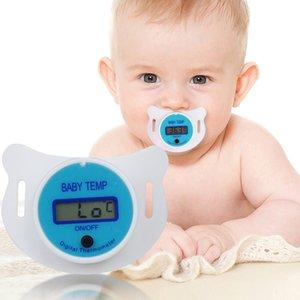 Médical bébé Oral Pacifier LCD Thermomètre numérique Mignon Enfants enfants Thermomètre santé sécurité soins thermomètre buccal