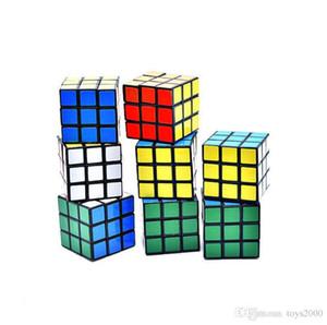 Puzzle do cubo pequeno tamanho 3cm brinquedos Mini Magia Rubik Game Cube Rubik aprendizagem jogo educativo Rubik Cube bom presente brinquedo de descompressão