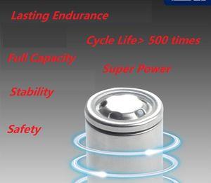 جودة عالية INR 30A 18650 vape بطارية 2500 مللي أمبير 3C 3.7 فولت البطاريات القابلة لإعادة الشحن ليثيوم النحاس المفاصل خرطوشة vertex mod النخيل NCR