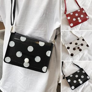 Diseñador de la PU-señoras para mujer del nuevo lunar de la Cruz del partido de tarde del cuerpo del bolso del bolso de banquetes