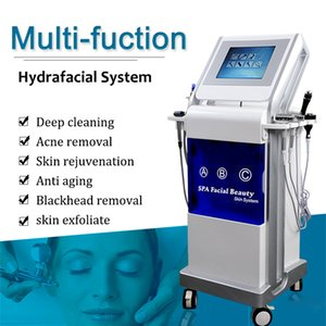 Hydra peel microdermabrasion machine facial care vacuum skin cleaning beauty machine rf wrinkle removal face lifting salon beauty equipment