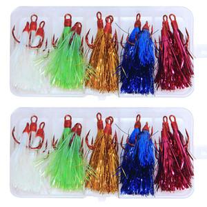 Одетый тройной рыболовный крючок пряжка тизер рыба приманки замена приманки крючки 2 # Туалетный тройной крючок 30 шт. / Лот