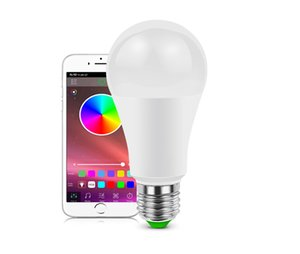 casa amazon luz Smart Home WiFi Lâmpada LED a cores Dimmable 9W E27 LED Bulb Google eco Alexa Voice Control Neon inteligente