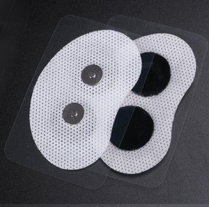 40pcs patcher électrodes physiothérapie Ronflement Anti-Ronflement Muscle Stimulator gorge patches onductive bandes Pad