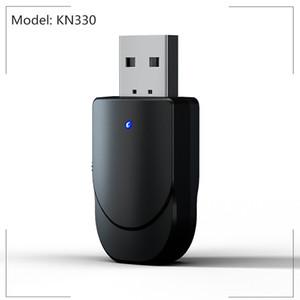 Bluetooth 5.0 Ricevitore Trasmettitore 3in1 KN330 Mini Stereo AUX RCA 3.5mm Jack USB Wireless Adapter audio per PC TV Cuffia Car