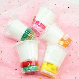 DIY Wolke Cotton Soft Obst Pink Slime Spielzeug Zeichnung Schlamm Eis Thousand Silk Slime Geschichte Lime Diy Silk Schlamm Spielzeug 150ml