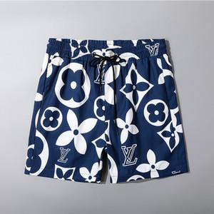 Pantalones nuevo verano forman los cortocircuitos nuevo diseñador de la tabla corta de secado rápido traje de baño de impresión de cartón playa de los hombres pone en cortocircuito para hombre M-3XL