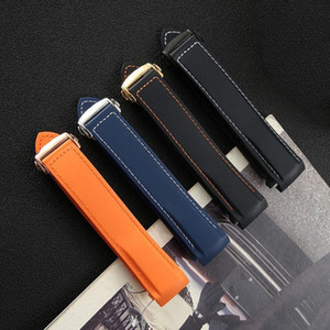 Nouvelle marque de mode de remplacement Omega Bracelet en silicone Haima Speedmaster 007 Cosmic Ocean étanche bracelet en caoutchouc 20 / 22mm