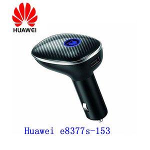 Desbloqueado New Original Huawei E8377 E8377s-153 4G LTE Hilink Carfi 150Mbps Carfi Hotspot Dongle com Sim Card PK E8372