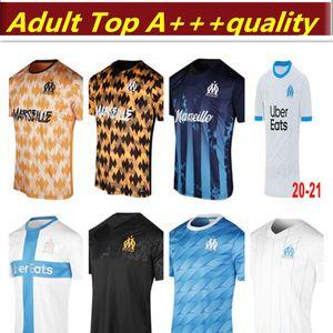 2019 2020 2021 Marseille Soccer Jerseys THAUVIN L.GUSTAVO PAYET 120th anniversary marseille 20 21 football men and women shirt