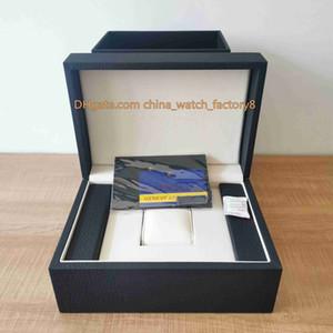 Hot vente de haute qualité VC outre-mer Voir la boîte originale Papiers Brown Caisses en bois Sac à main FiftySix Outre-mer Patrimony 4500 V / 110A-B128 Montres
