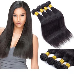 Best Sale Items Brazilian Straight Human Virgin Hair Bundle Deals Top Quality Human Hair Weave Extensions Silk and Soft Unprocessed hairs