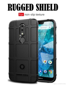 Anti choque telefones casos capa para nokia 7.1 telefone móvel tampa protetora shell capa para iphone xs max xr 6 s 7 s 8 s plus casos de volta cobrir