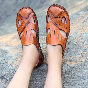 transpirables chaussures homme para caoutchouc homme masculino sandalias sandale couro sandalia santal cuir erkek hombre playa Herren