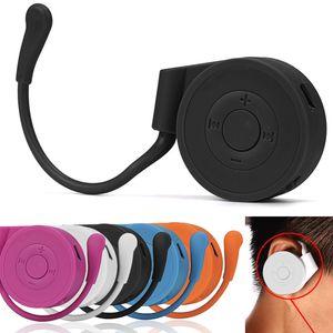 Großer Weihnachtsgeschenk-Player Tragbarer Mini-Lautsprecher Sport Laufer Earhook USB Digital MP3 Music Player Support 32GB Micro SD TF-Karte