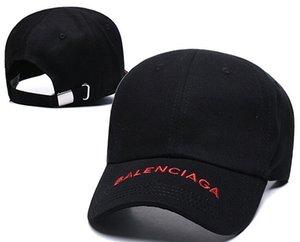 Diseñador 2019 Gorras de béisbol para hombre Nueva carta de lujo Sombreros Hueso bordado Paris Hombres Mujeres casquette Sombrero para el sol Gorras Gorra deportiva Envío de la gota