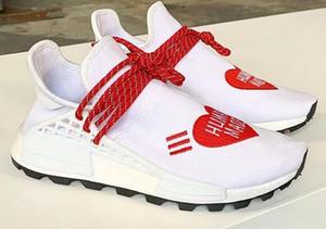 Human Made рентгеновских Pharrell Williams Human Race кроссовки, Hu Вдохновение Пакет обувь Sneaker Новости, Hu гонки Сердца разум обувь с Box