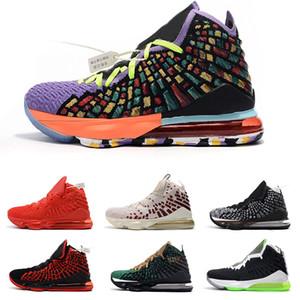 TOP 17 Gelecek Win Win KIZILÖTESİ ben Promise JAMES GANG Kırmızı Halı Erkek Basketbol ayakkabıları 17s Erkek Spor Spor ayakkabılar Eğitmenler boyutu 40-46