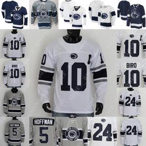 Penn State Nittany Lions Jersey del hockey Evan Campana Paul Mason DeNaples Snell Tyler Gratton Alex Stevens Max Sauve James Gobetz Kenny Johnson