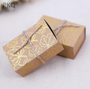 Valise 50pcs Candy Box Voyage classique Thème élégant de style boîte-cadeau de mariage anniversaire anniversaire boîtes de faveur boîte de papier kraft