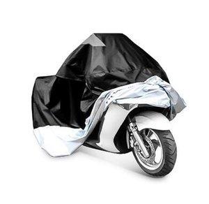 Motorrad-Schutzlaken Wasserdicht Wasser Abdeckung Regen UV-Schutz Kippt Motorrad Persenning Zubehör Zubehör Stuff