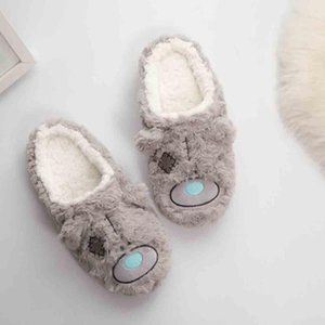YOUYEDIAN Winter Slippers Women 2020 Indoor Plush Cute Female Home Slippers Women Shoes Pantoffels Dames Size 37-41