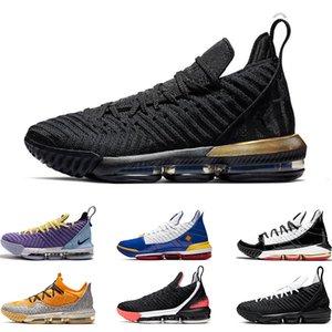 2019 мужская баскетбольная обувь 16 Oreo Remix SuperBron Hot Lava Четыре Всадника НАСЛЕДИЕ SAFARI MARTIN Sports snekaers тренеры 7-12