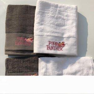 Mode broderie serviette coton comprimé Rectangle Accueil Serviette de bain Visage cheveux Bain Designer serviette Livraison gratuite
