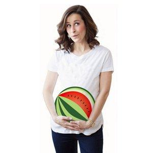 Hemşirelik anne Desen Baskı Yaz Pamuk Hamile Giyim için Bear Lider Hamile Tişört Hamile Bluz Konfeksiyon
