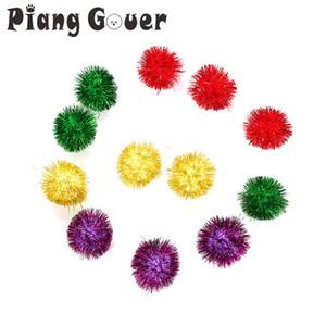 Kedi Toy 5cm Topu Köpüklü Küçük Toplar Pet komik Oyuncak Kedi lot başına Rastgele Renk 10Pcs besler