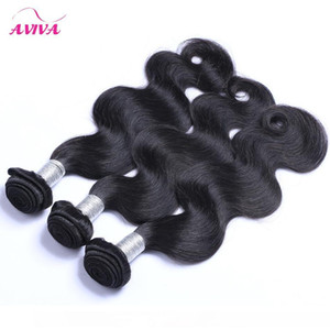 H Malaysian Virgin Hair Weave Bundles Unprocessed Malaysian Body Wave Hair Wefts 3 4 Pcs Lot Cheap Remy Human Hair Extensions Natural B