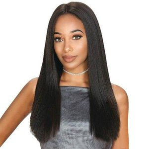 360 Lace Frontal Wig Brazilian Lace Front Human Hair Wigs Remy Hair Pre-Plucked With Baby Hair Full End Natural Black