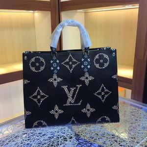 L lettera OnTheGo modo di marca borse delle donne Crossbody Borse singolo OnTheGo spalla sacchetto esterno naturale della pelle bovina inclinato Oblique Bag Croce