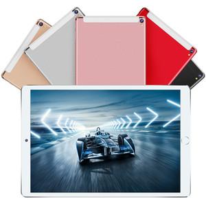 Tablet 10 inç Octa Çekirdek 6TR RAM 64GB ROM 10 inç tablet bilgisayar 4G LTE 1280 * 800 IPS çift kamera 3G sim tablet 10 10.1 + Hediye android