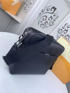 Hombres bolso clásico del mensajero cartera de la manera marca crossbody de cuero nego al aire libre del bolso de gran capacidad del diseñador del bolso famosos 33427
