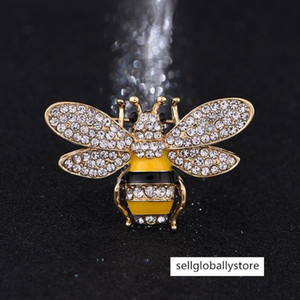 Marque Designer Bee Pins Femmes Brooches haute qualité strass cristal Boucle Broche luxe Bijoux en gros