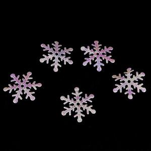 300PCS / Paketi 1.5cm / 2cm / 3 cm Beyaz kar taneleri kabarık kar tanesi Konfeti kış düğün Tablo Parti Noel Dekorasyon