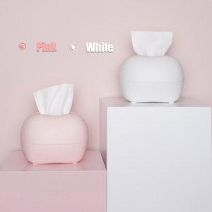 Creative Night Light Tissue Box for Car Living Room Chic Paper Towel Storage Box Home Decor Towel Napkin Tissue Holder Dispenser