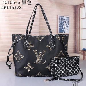 Sıcak Satış Klasik Moda Çanta Lady Omuz çanta etiketi ve toz torbası Kompozit Bag çanta kadın Totes torbalar (çekme için 11 renk)