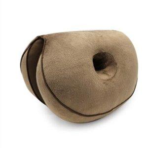 C2 Hip Lift Seat Cushion Dual Comfort Cushion Plush Folding Pillow Stored Lift Hips Up Seat Pillow