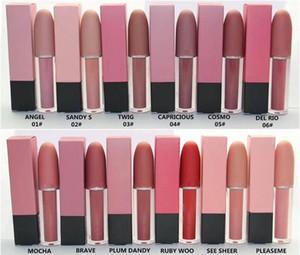 El nuevo maquillaje de labios cosméticos Selena Navidad limita bala edición lápiz labial del lustre del lustre del labio de 12 colores del envío de DHL