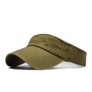 2020 mode lavé vieille casquette de baseball chapeau de soleil plage vide chapeau haut coréenne femme chapeau de soleil en plein air Voyage
