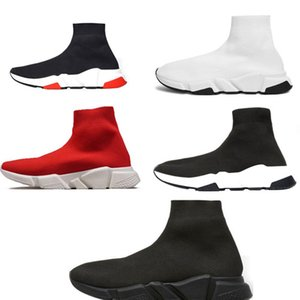 Balenciaga soock Designer Casual Socken Schuhe Speed Trainer Schwarz Rot Triple Black Fashion Socken Sneaker Trainer Laufschuhe 40-46