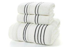 LYNGY Grey Homens Cotton Bath Set Toalha para Adultos toalha 2pcs rosto toalhinha 1pc Bath Camping toalha toalhas de banho 3pcs Banho